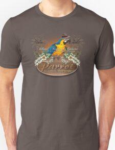 parrot in a hat 3 Unisex T-Shirt