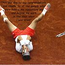 Rafa Nadal lying on the ground by Dulcina