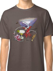 parrot in a hat 8 Classic T-Shirt