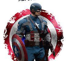 Captain America by djprice