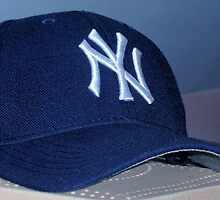 NY Baseball Hat by Kathleen Brant