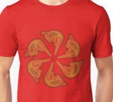 Dragons Head Circle Unisex T-Shirt