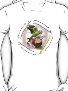 parrot in a hat 8 T-Shirt