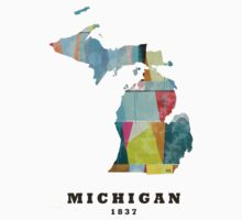 Michigan state map Kids Clothes