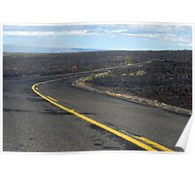 lava field road Poster