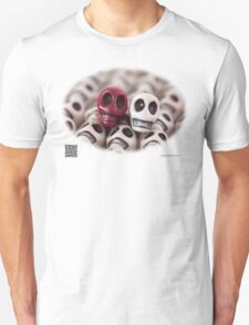 Maroon And White T-Shirt