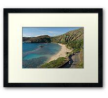 Hanuma Bay Framed Print