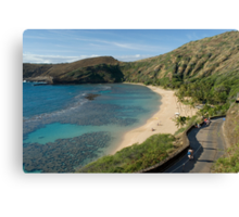 Hanuma Bay Canvas Print
