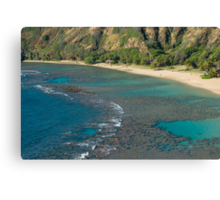 Hanuma Bay Corals Canvas Print