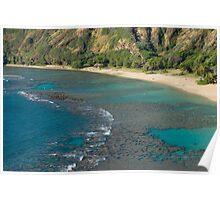 Hanuma Bay Corals Poster