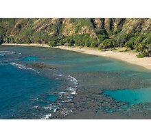 Hanuma Bay Corals Photographic Print