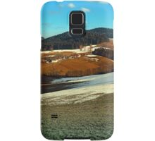 Scenic view below the Bohemian Forest | landscape photography Samsung Galaxy Case/Skin