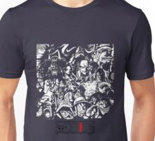 ONE PIECE all characters (ALL COLOURS) Unisex T-Shirt