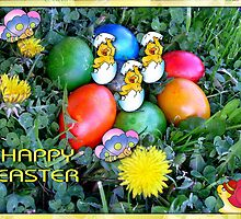 Happy Easter by Ana Belaj