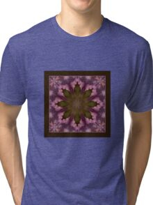 Flower of the Dragonfly - Shawl Tri-blend T-Shirt