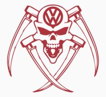 vw skull by designshoop