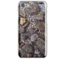 Pebble dashed floor texture iPhone Case/Skin