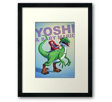 Yoshi BADASS Framed Print