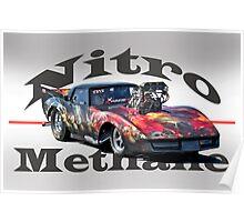 Nitromethane Pro Mod Corvette Poster