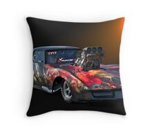 Corvette Pro Mod  Throw Pillow
