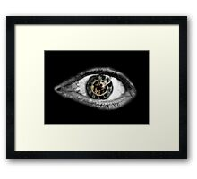 Times Eye Framed Print