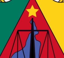 Coat of Arms of Cameroon Sticker