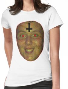 jon is satan Womens Fitted T-Shirt