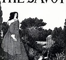 Title page from 'The Savoy' by Bridgeman Art Library