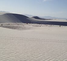 White Sands National Park I by Roger Passman