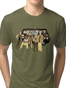 Marshmallow Machine Sepia Tri-blend T-Shirt