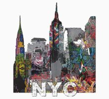 NYC Graffiti Baby Tee
