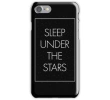 Sleep Under The Stars iPhone Case/Skin