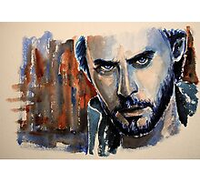Jared Leto, featured in The Group, Art Universe Photographic Print