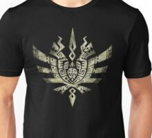 Monster Hunter 4 Logo BONE bright Unisex T-Shirt