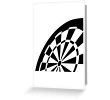 Dart board Greeting Card