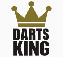 Darts king champion by Designzz