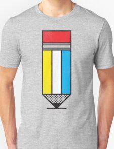 Mondrian's Pencil #2 T-Shirt