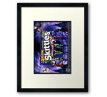 MORTAL KOMBAT  SKITTLES Framed Print