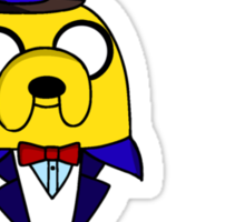 "Randy Butternubs - Adventure Time ""The Creeps"" Sticker"