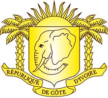 Côte d'Ivoire Coat of Arms  by abbeyz71