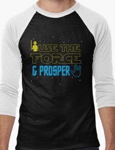 Use The Force & Prosper Men's Baseball ¾ T-Shirt