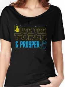 Use The Force & Prosper Women's Relaxed Fit T-Shirt
