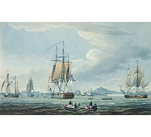 The Prometheus and the Melpomene in the Gulf of Riga to meet the British Squadron Photographic Print
