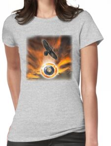 crow and solar trinity Womens Fitted T-Shirt