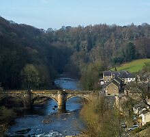Richmond, Yorkshire by English Landscape Prints