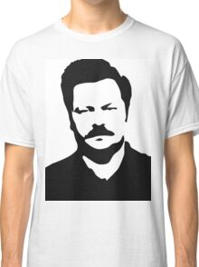 Ron Swanson - Parks and Recreation Classic T-Shirt