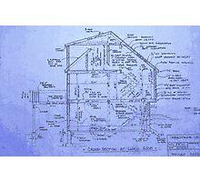 Blueprints Photographic Print