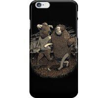 Minotaur Loves Man-Bull iPhone Case/Skin