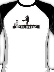 BullPenBums (Black v1) T-Shirt