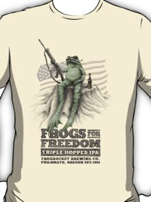 Frogs for Freedom Triple-Hopped IPA T-Shirt